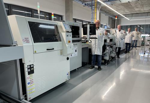 Panasonic Industry production line at Graf Syteco
